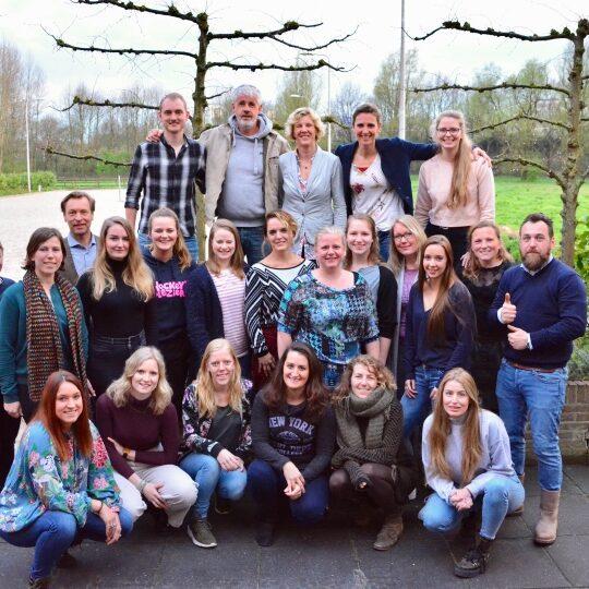 De vrijwilligers van Griftenstein & Zorg